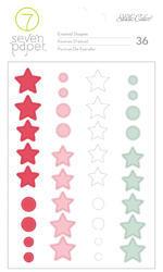Felix Enamel Shape Stickers - 1