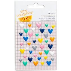 Finders Keepers Enamel Hearts - 1