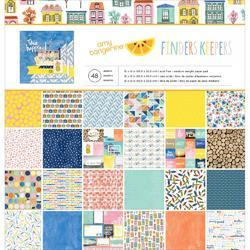 "Finders Keepers Paper Pad 12""x12"" - 1"