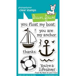 Float My Boat Clear Stamps - 1