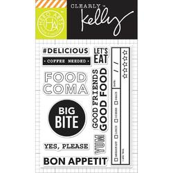 Food Coma Clear Stamps - 1
