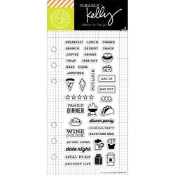 Food Planner Clear Stamps - 1