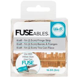 FUSEables Fringe/Kraft Decorate Tape - 1