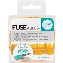 FUSEables Fringe/Yellow Decorate Tape - 1