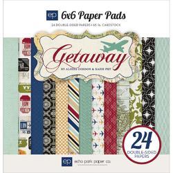 """Getaway Paper Pad 6""""x6"""" 24 sheets"""