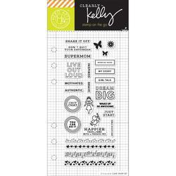 Girl Talk Planner Clear Stamps - 1