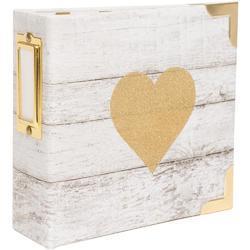 Glitter Heart Ring Album 4x4 Project Life®