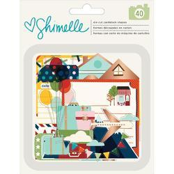 Go Now Go Acetate & Cardstock Ephemera Die-Cuts 40/Pkg