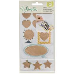 Go Now Go Copper Foil Scratch Off Stickers