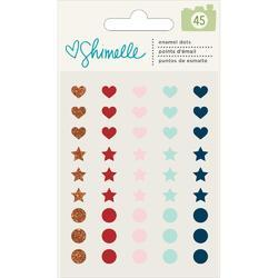Go Now Go Enamel Dots 45/Pkg