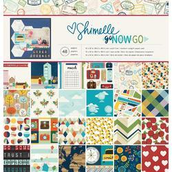 "Go Now Go Single-Sided Paper Pad 12""X12"" - 1"