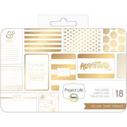 """Golden Themed Cards 4""""x6"""""""