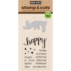 Happy Clear Stamps & Die