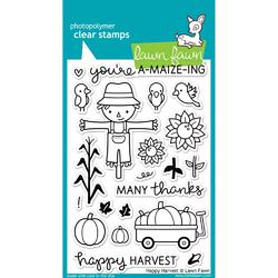 Happy Harvest Clear Stamps - 1
