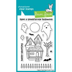 Happy Haunting Clear Stamps - 1