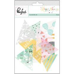 Happy Things Acetate Triangles Die-Cuts 20 pkg - 1