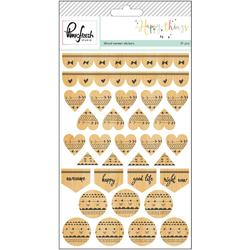Happy Things Veneer Stickers - 1