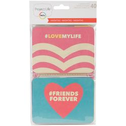Hashtag Themed Cards 40 pkg - 1