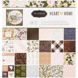 "Heart of Home Single-Sided Paper Pad 12""X12"""