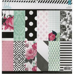 "Hello Beautiful Paper Pad 12""x12"" - 1"