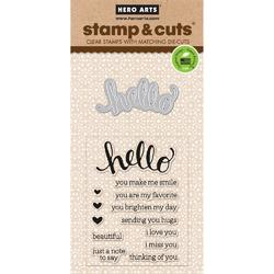 Hello Clear Stamps & Die