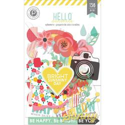 Hello Sunshine Ephemera Die Cuts 136 pkg - 1