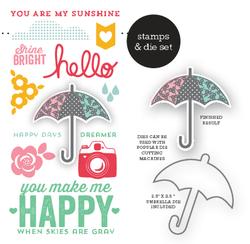 Hello Sunshine Stamps & Die Set 14pcs - 1