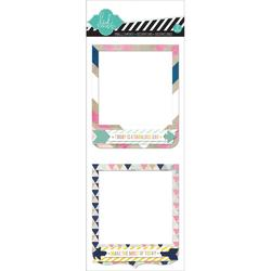 Hello Today Self-Adhesive Dimensional Frames 2 pkg