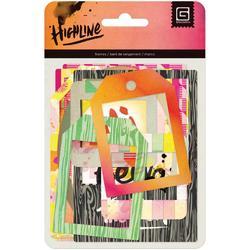 Highline Cardstock Die Cut Frames w/Overlays - 1
