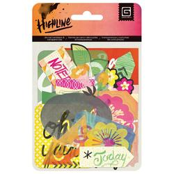 Highline Cardstock Die-Cuts & Transparencies - 1