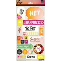 """Highline Cardstock Stickers 6""""x12"""""""