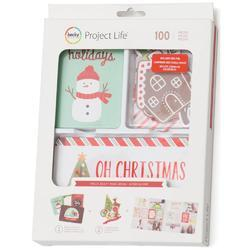 Holly Jolly Value Kit wRed Foil  100/Pkg - 1