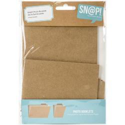 Sn@p! Photo Booklets w/4 Pocket Pages 2/Pk - 1