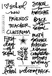 I Love School by Ali Edwards