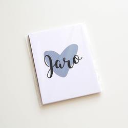 Jaro PL kartičky 3x4 (Design A) - 1