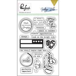"Indigo Hills Clear Photopolymer Stamps 4""x6"""