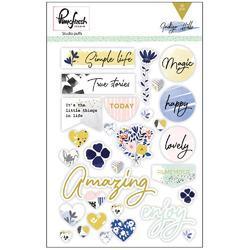 """Indigo Hills Puffy Stickers 5""""x7"""""""