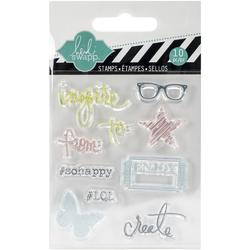 Inspire Mixed Media Clear Mini Stamps - 1