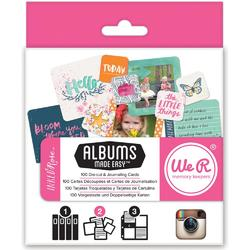 Instagram Albums Made Easy Journaling Cards - Inked Rose - 1