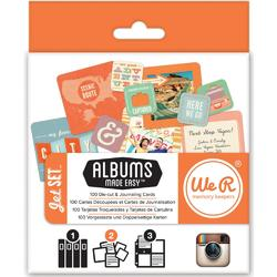 Instagram Albums Made Easy Journaling Cards - Jet Set