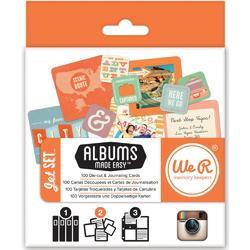 Instagram Albums Made Easy Journaling Cards - Jet Set