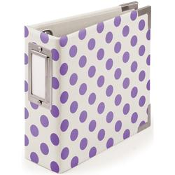"Instagram Album 4""x4"" Ring – Neon Purple"