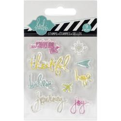 Journey Mixed Media Clear Mini Stamps - 1