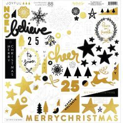 "Joyful Chipboard Elements 12""X12"""