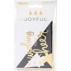 Joyful Double-Sided Journal Cards 24/Pk - 1