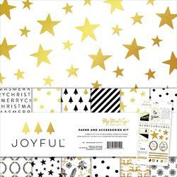 "Joyful Paper & Accessories Kit 12""X12"""