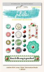 Jubilee Mint Decorative Brads