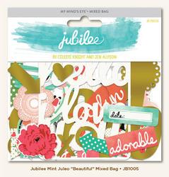 Jubilee Mint Mixed Bag Cardstock Die-Cuts - 1