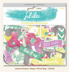 Jubilee Sherbet  Mixed Bag Cardstock Die-Cuts - 1