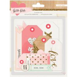 Kiss Kiss Layered Tags 14 pkg - 1